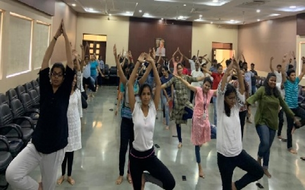 International Yoga Day 22nd June 2019