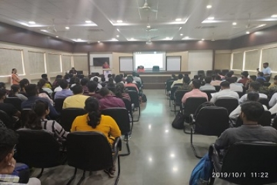 Induction Program Expert Session On Cybersecurity Cyber Low By Dr. Dipti Lele on Monday 1/10/2019